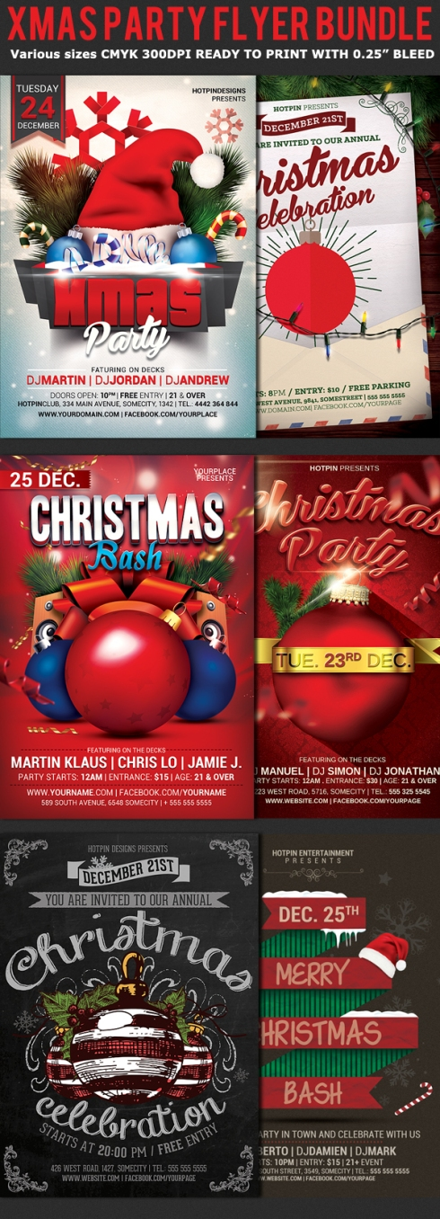 christmas-party-flyer-bundle-preview